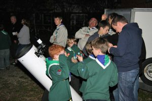 NEAS working with scouts