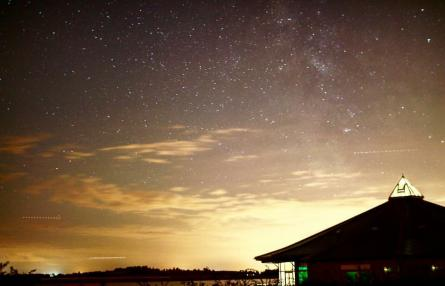 Abberton Reservoir Milky Way
