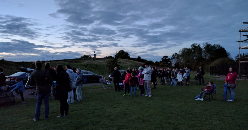 Star Gazing at Great Notley 9th December 2017