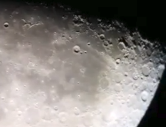 Live Astronomy – 28th November 2017 – The Moon