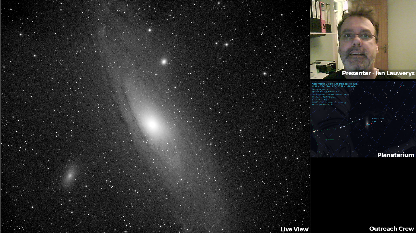 Live Astronomy Live View