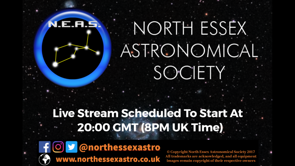 Live Astronomy Title Page