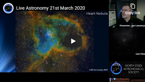 Live Astronomy – 21st March 2020