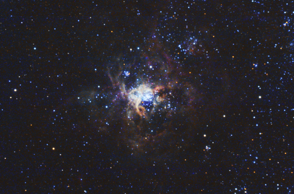The Tarantula Nebula via Faulkes Telescope Project