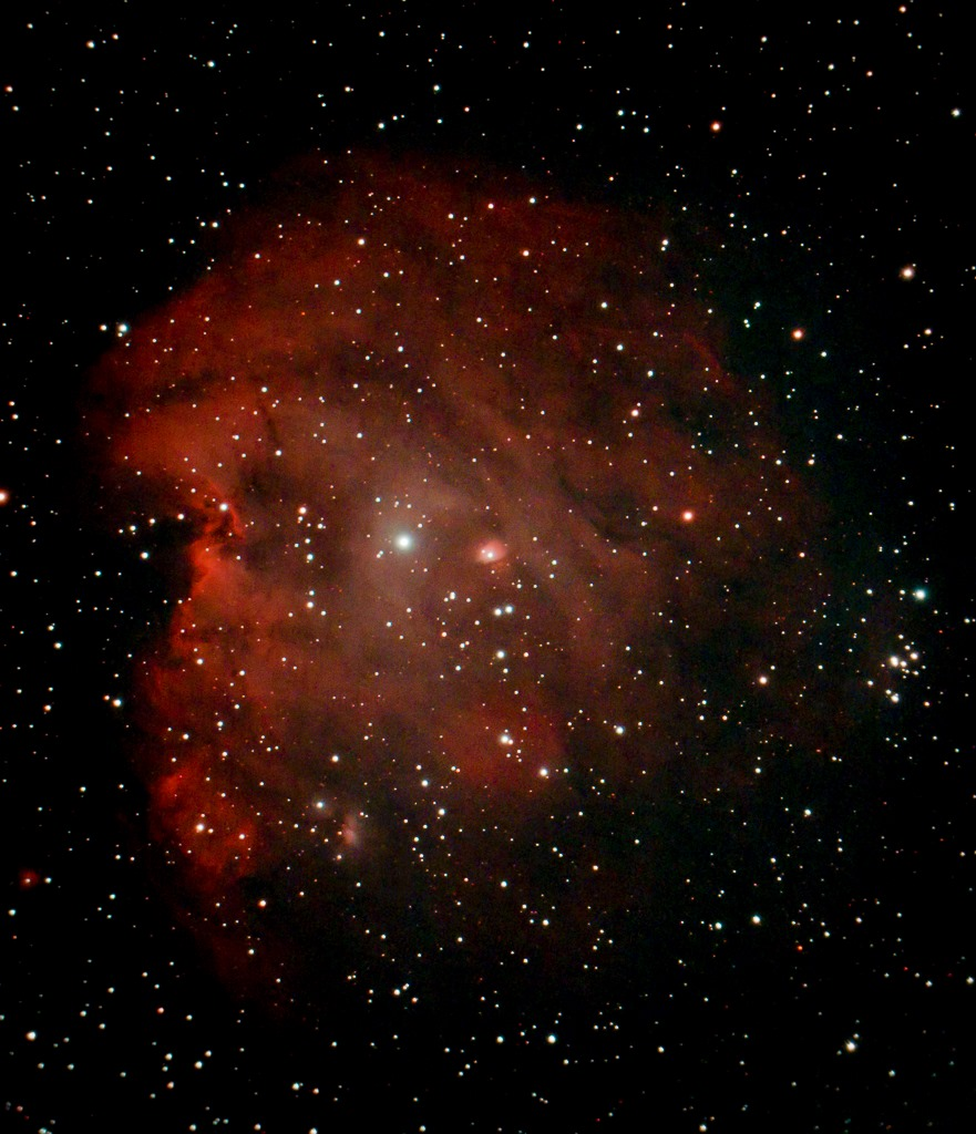Monkey Head Nebula by Martin Bracken