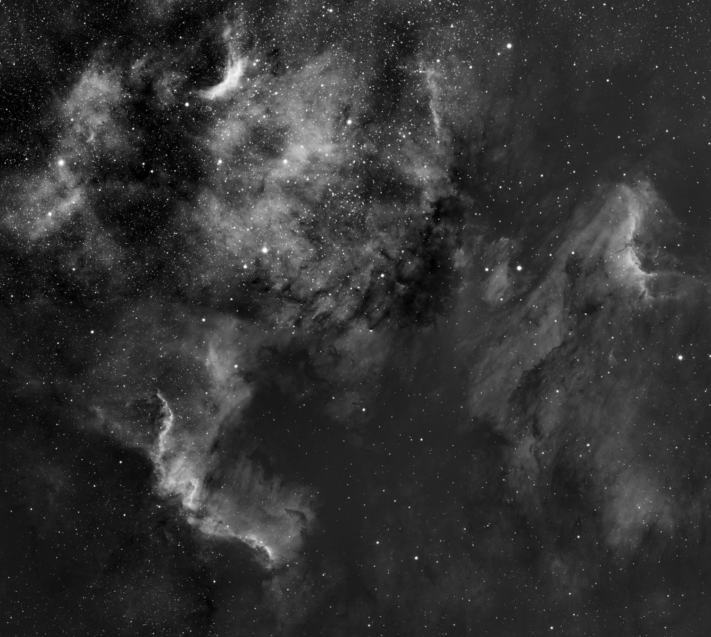 North America and Pelican Nebulae - Alec Alden