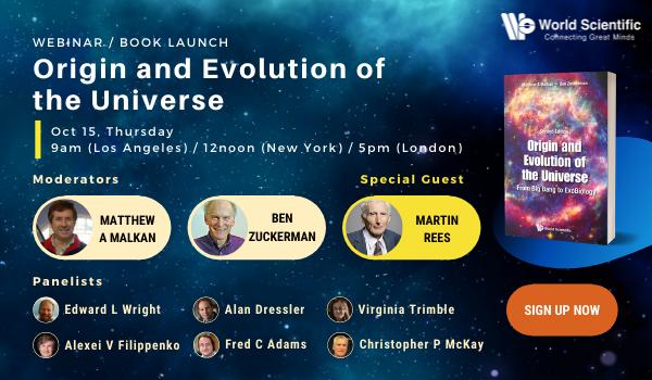 Origin and Evolution of the Universe - Book launch Invitation